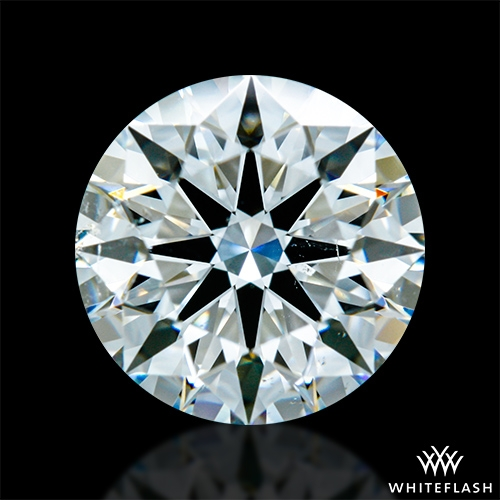 1.276 ct G SI1 A CUT ABOVE® Hearts and Arrows Super Ideal Round Cut Loose Diamond