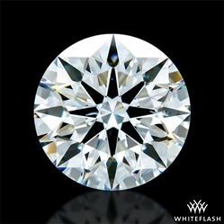 0.763 ct H SI1 A CUT ABOVE® Hearts and Arrows Super Ideal Round Cut Loose Diamond