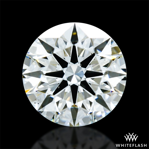 0.372 ct I VS2 A CUT ABOVE® Hearts and Arrows Super Ideal Round Cut Loose Diamond