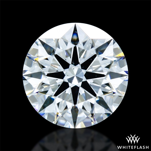 0.526 ct E VS2 A CUT ABOVE® Hearts and Arrows Super Ideal Round Cut Loose Diamond