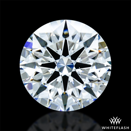 0.621 ct E VS2 A CUT ABOVE® Hearts and Arrows Super Ideal Round Cut Loose Diamond
