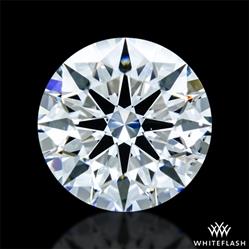 0.621 ct E VS2 A CUT ABOVE® Hearts and Arrows Super Ideal Round Cut Loose Diamond