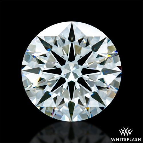 1.316 ct G VS1 A CUT ABOVE® Hearts and Arrows Super Ideal Round Cut Loose Diamond