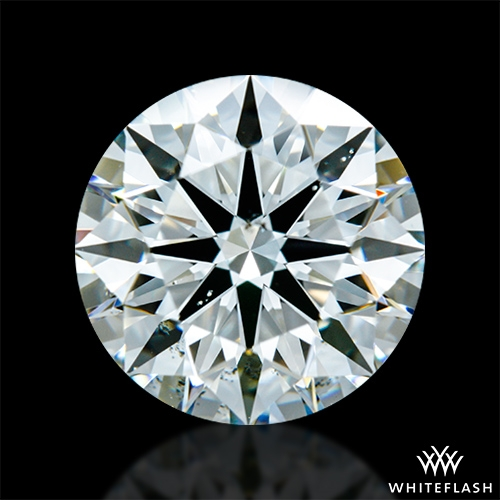 1.925 ct I SI1 A CUT ABOVE® Hearts and Arrows Super Ideal Round Cut Loose Diamond