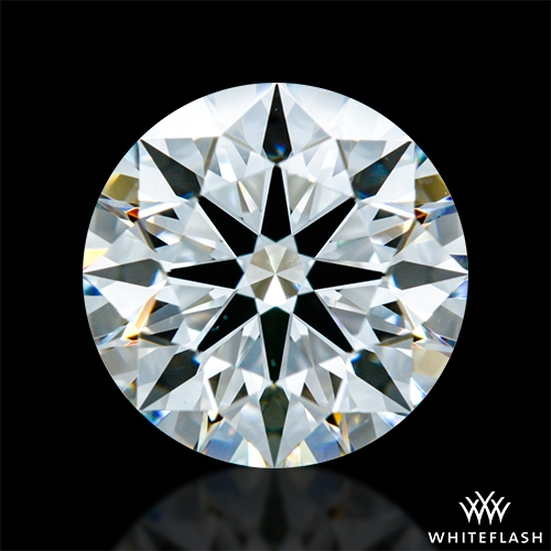 1.322 ct G VS1 A CUT ABOVE® Hearts and Arrows Super Ideal Round Cut Loose Diamond