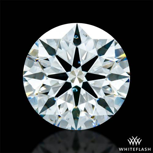 1.421 ct G SI1 A CUT ABOVE® Hearts and Arrows Super Ideal Round Cut Loose Diamond