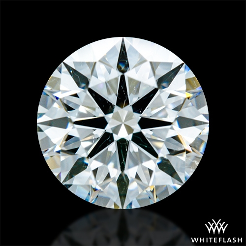 1.305 ct H SI1 A CUT ABOVE® Hearts and Arrows Super Ideal Round Cut Loose Diamond