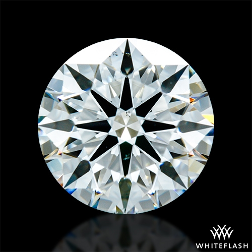 1.467 ct H VS2 A CUT ABOVE® Hearts and Arrows Super Ideal Round Cut Loose Diamond
