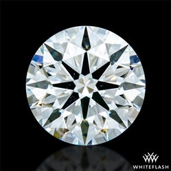 0.735 ct G SI1 A CUT ABOVE® Hearts and Arrows Super Ideal Round Cut Loose Diamond