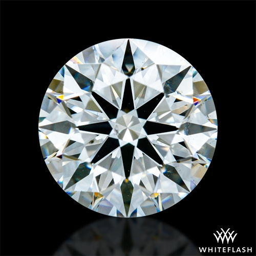 0.853 ct H VS2 A CUT ABOVE® Hearts and Arrows Super Ideal Round Cut Loose Diamond
