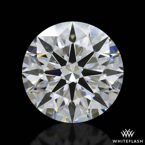 0.758 ct D VVS1 A CUT ABOVE® Hearts and Arrows Super Ideal Round Cut Loose Diamond
