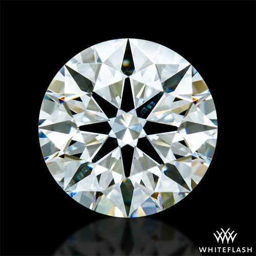 0.536 ct J SI1 A CUT ABOVE® Hearts and Arrows Super Ideal Round Cut Loose Diamond