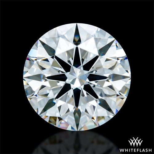 0.613 ct E VS2 A CUT ABOVE® Hearts and Arrows Super Ideal Round Cut Loose Diamond