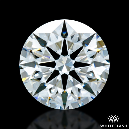 0.806 ct E VS1 A CUT ABOVE® Hearts and Arrows Super Ideal Round Cut Loose Diamond