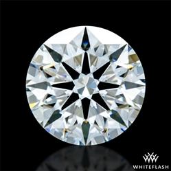 0.806 ct E VS1 A CUT ABOVE® Hearts and Arrows Super Ideal Round Cut Loose Diamond