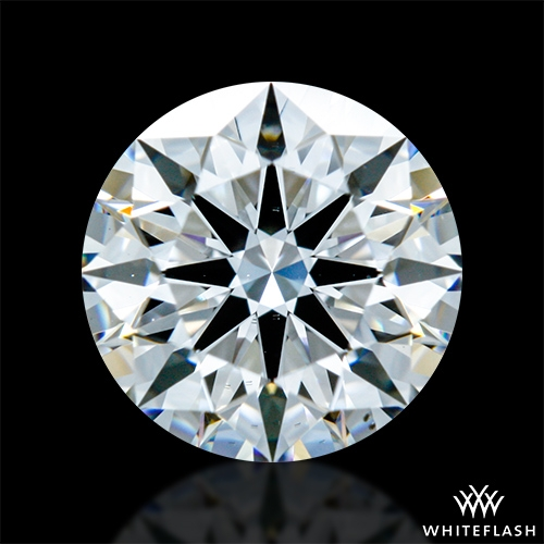 0.922 ct E VS2 A CUT ABOVE® Hearts and Arrows Super Ideal Round Cut Loose Diamond