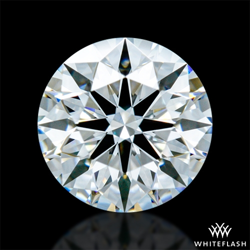 0.651 ct E VVS2 A CUT ABOVE® Hearts and Arrows Super Ideal Round Cut Loose Diamond