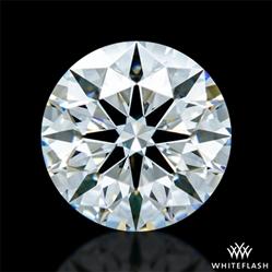 0.651 ct E VVS2 A CUT ABOVE® Hearts and Arrows Super Ideal Round Cut Loose Diamond