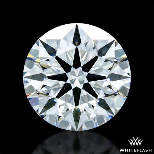 1.197 ct G VS1 A CUT ABOVE® Hearts and Arrows Super Ideal Round Cut Loose Diamond