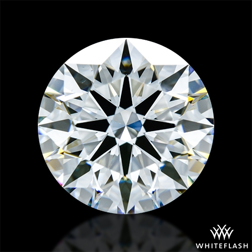 2.738 ct G VS1 A CUT ABOVE® Hearts and Arrows Super Ideal Round Cut Loose Diamond