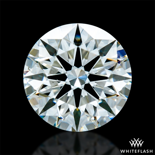 0.541 ct G VS2 A CUT ABOVE® Hearts and Arrows Super Ideal Round Cut Loose Diamond