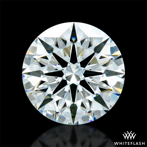 0.425 ct H VS1 A CUT ABOVE® Hearts and Arrows Super Ideal Round Cut Loose Diamond