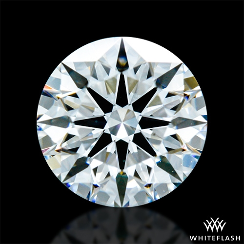 0.674 ct F VS2 A CUT ABOVE® Hearts and Arrows Super Ideal Round Cut Loose Diamond