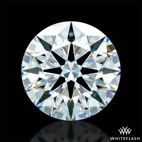 0.413 ct D VS1 A CUT ABOVE® Hearts and Arrows Super Ideal Round Cut Loose Diamond