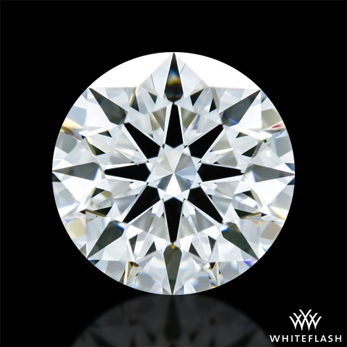 0.516 ct E VS1 A CUT ABOVE® Hearts and Arrows Super Ideal Round Cut Loose Diamond