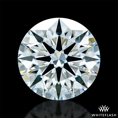 0.932 ct F VS1 A CUT ABOVE® Hearts and Arrows Super Ideal Round Cut Loose Diamond