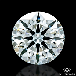 0.538 ct H SI1 A CUT ABOVE® Hearts and Arrows Super Ideal Round Cut Loose Diamond
