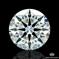 0.605 ct I VS2 A CUT ABOVE® Hearts and Arrows Super Ideal Round Cut Loose Diamond
