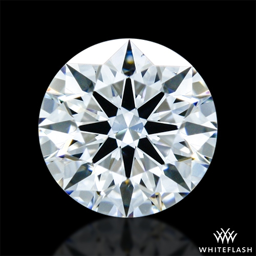 0.355 ct F VS2 A CUT ABOVE® Hearts and Arrows Super Ideal Round Cut Loose Diamond