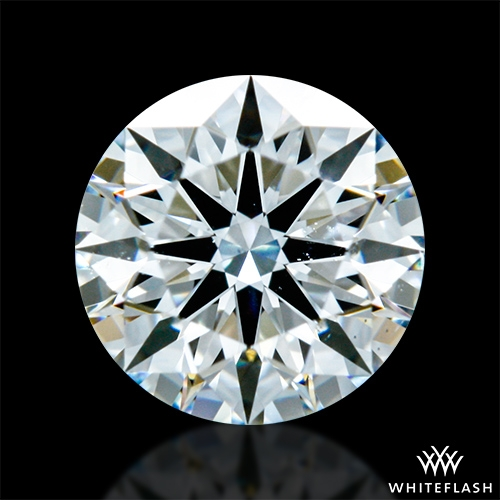 0.527 ct G SI1 A CUT ABOVE® Hearts and Arrows Super Ideal Round Cut Loose Diamond