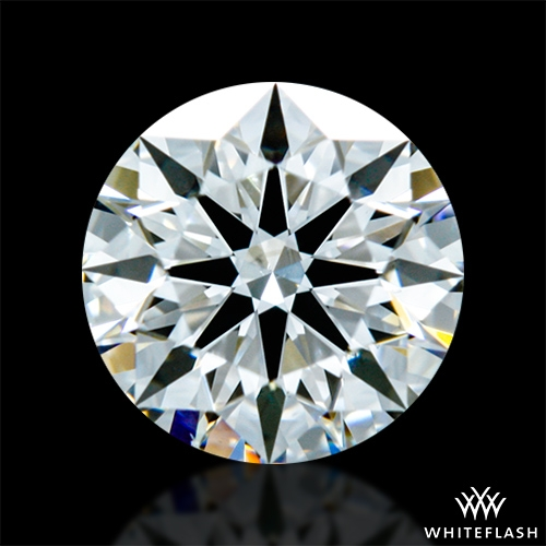 0.60 ct G VS2 A CUT ABOVE® Hearts and Arrows Super Ideal Round Cut Loose Diamond