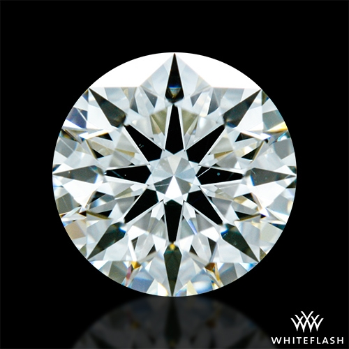 0.767 ct I SI1 A CUT ABOVE® Hearts and Arrows Super Ideal Round Cut Loose Diamond
