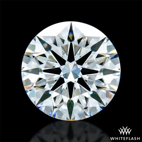 0.407 ct E VS2 A CUT ABOVE® Hearts and Arrows Super Ideal Round Cut Loose Diamond
