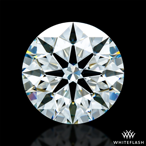 2.688 ct H VS1 A CUT ABOVE® Hearts and Arrows Super Ideal Round Cut Loose Diamond