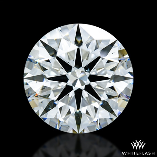 3.57 ct H SI1 A CUT ABOVE® Hearts and Arrows Super Ideal Round Cut Loose Diamond