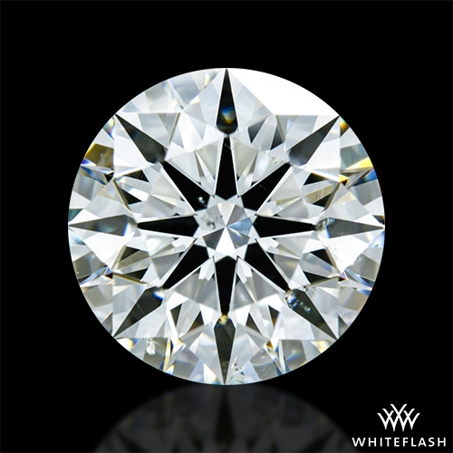 2.126 ct I SI1 A CUT ABOVE® Hearts and Arrows Super Ideal Round Cut Loose Diamond