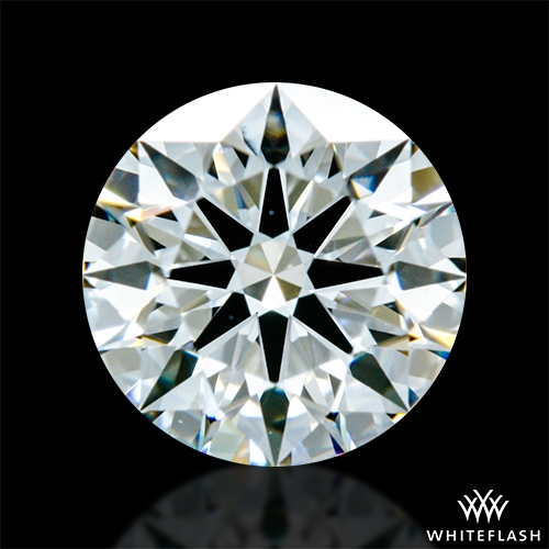 0.602 ct H VS1 A CUT ABOVE® Hearts and Arrows Super Ideal Round Cut Loose Diamond