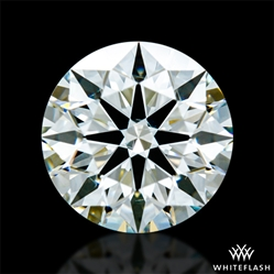 0.728 ct J SI1 A CUT ABOVE® Hearts and Arrows Super Ideal Round Cut Loose Diamond