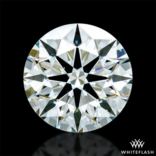 0.642 ct I SI1 A CUT ABOVE® Hearts and Arrows Super Ideal Round Cut Loose Diamond
