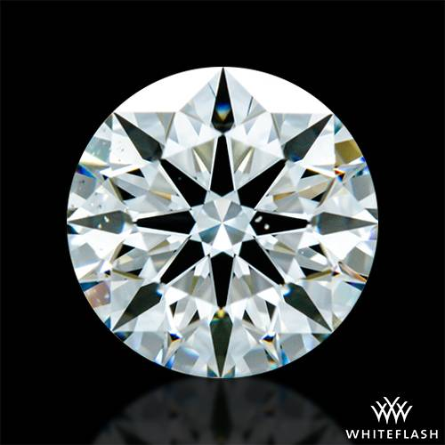 0.715 ct I VS2 A CUT ABOVE® Hearts and Arrows Super Ideal Round Cut Loose Diamond