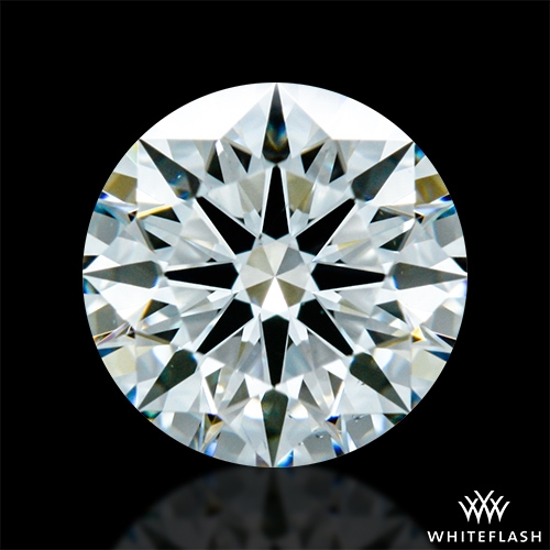 0.628 ct H VS2 A CUT ABOVE® Hearts and Arrows Super Ideal Round Cut Loose Diamond