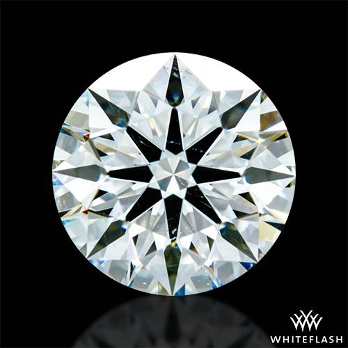 1.421 ct J SI1 A CUT ABOVE® Hearts and Arrows Super Ideal Round Cut Loose Diamond