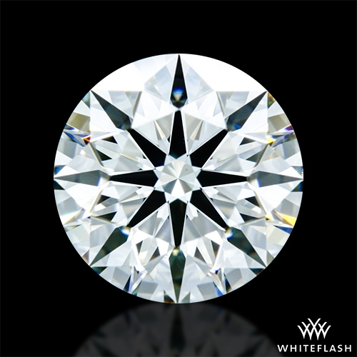1.242 ct H VS1 A CUT ABOVE® Hearts and Arrows Super Ideal Round Cut Loose Diamond
