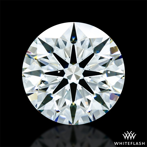 1.263 ct I VS2 A CUT ABOVE® Hearts and Arrows Super Ideal Round Cut Loose Diamond