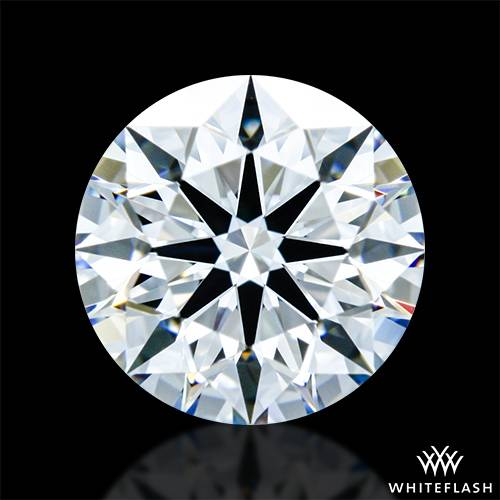 0.766 ct E IF A CUT ABOVE® Hearts and Arrows Super Ideal Round Cut Loose Diamond
