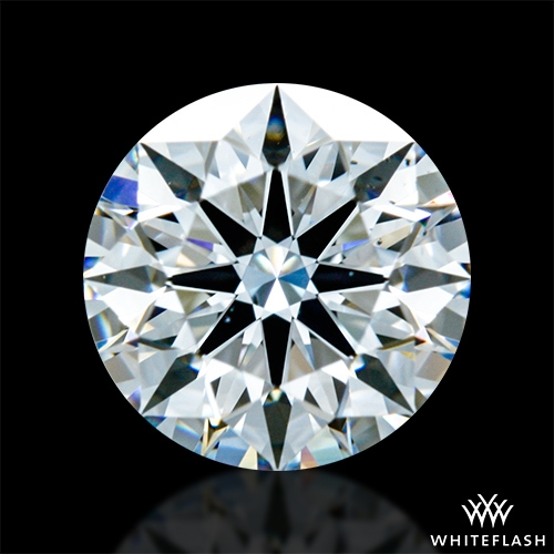 0.904 ct F VS2 A CUT ABOVE® Hearts and Arrows Super Ideal Round Cut Loose Diamond